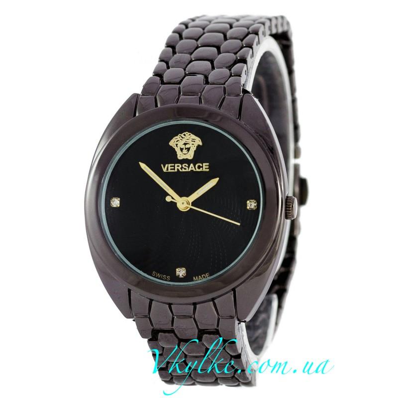 Женские часы Versace черные