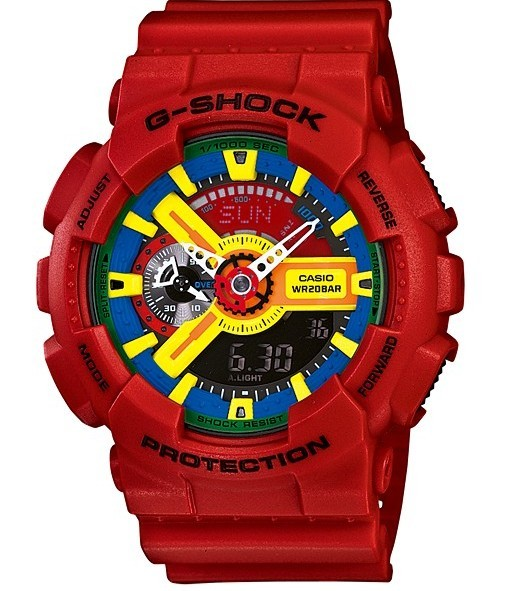 КОПИЯ CASIO G-SHOCK GA-110 RED