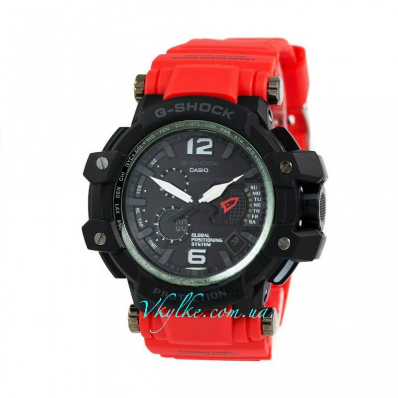 Casio G-Shock GPW-1000 красные