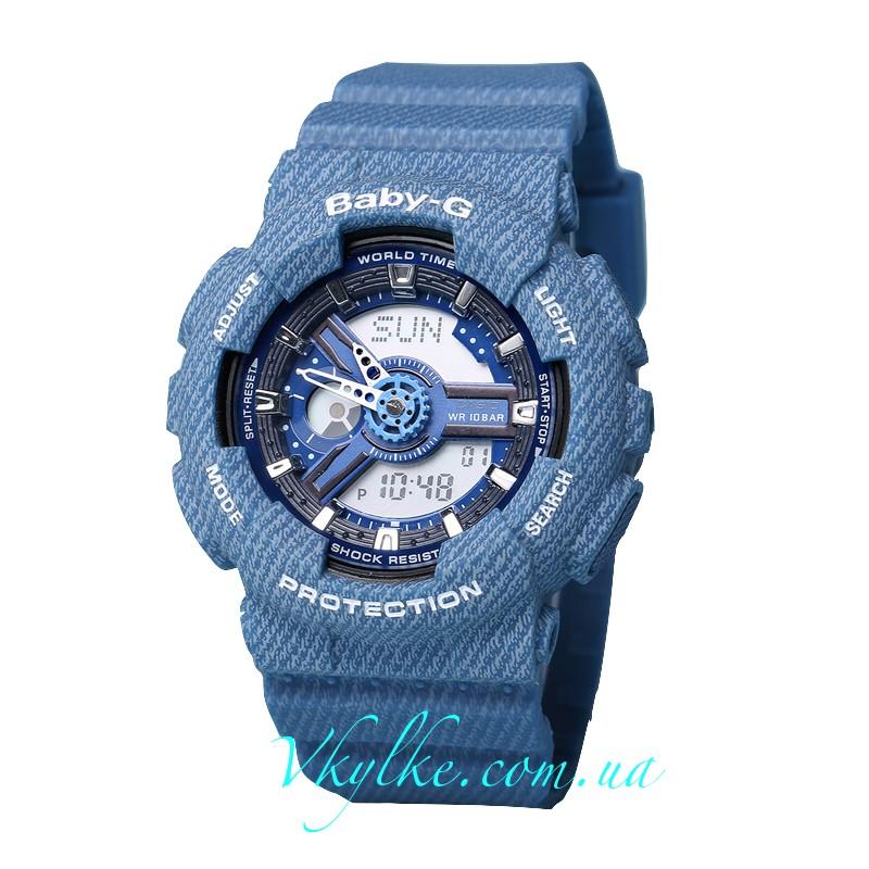 Часы Casio Baby G BA-110 Jeans AAA