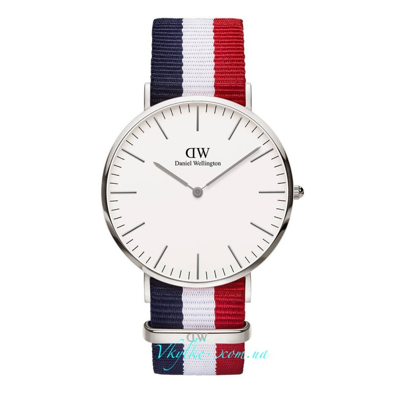 Daniel Wellington Classic Cambridge серебро