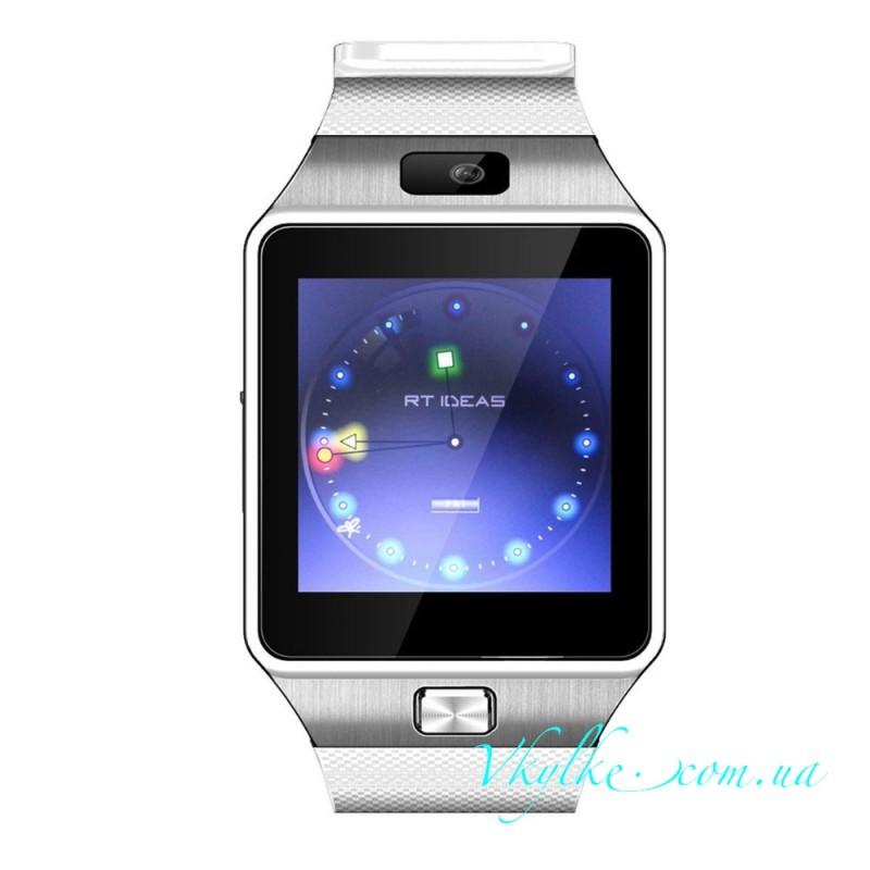 Smart Watch DZ09 белый с серебром