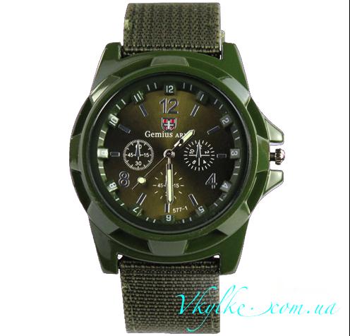 Мужские часы Gemius ARMY зеленого цвета