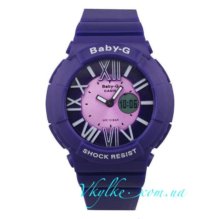 Casio Baby-G BGA-160 фиолетовые