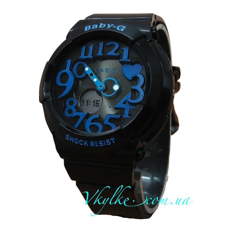 Casio Baby-G BGD-133 черные с синим