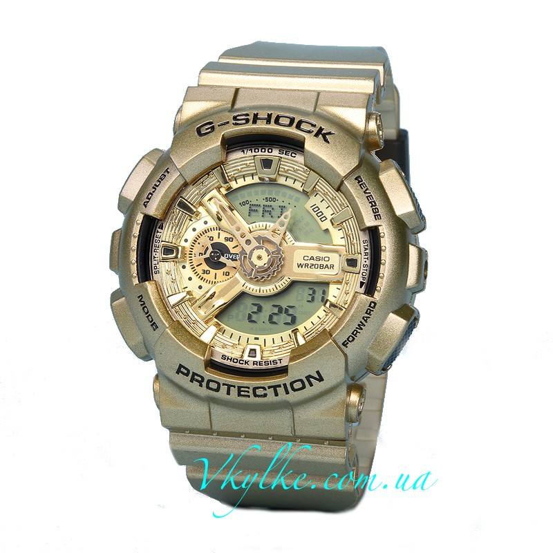 Часы Casio G-Shock GA-110 Gold AAA