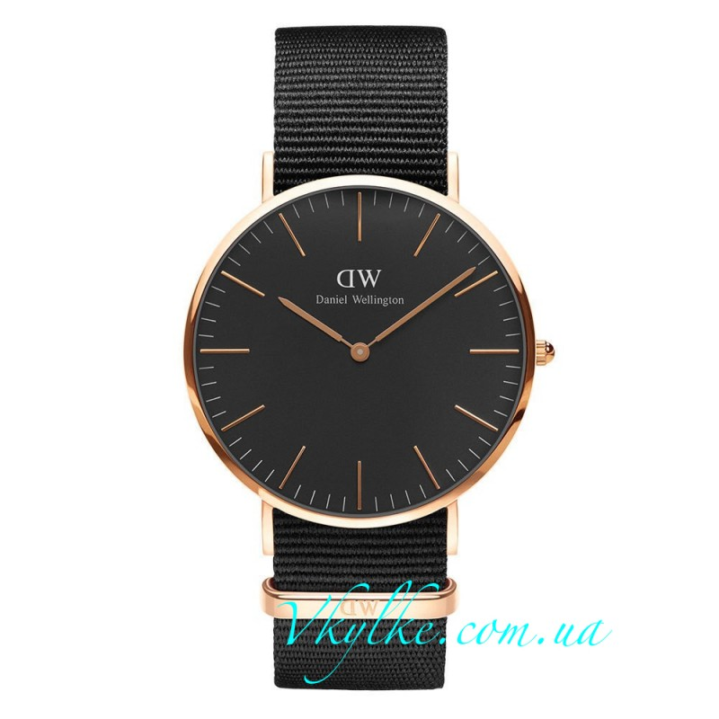Daniel Wellington CLASSIC BLACK CORNWALL
