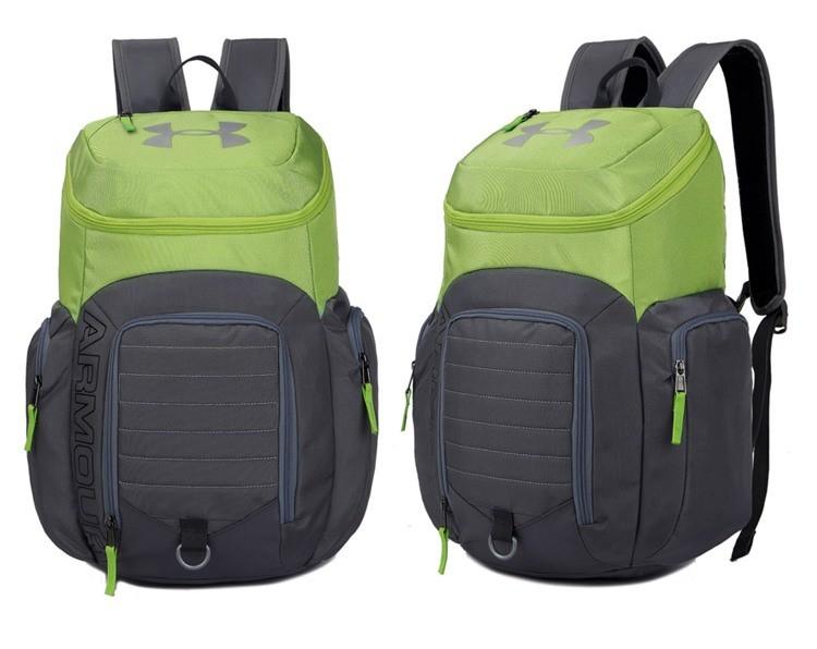 Рюкзак Under Armour grey-lime