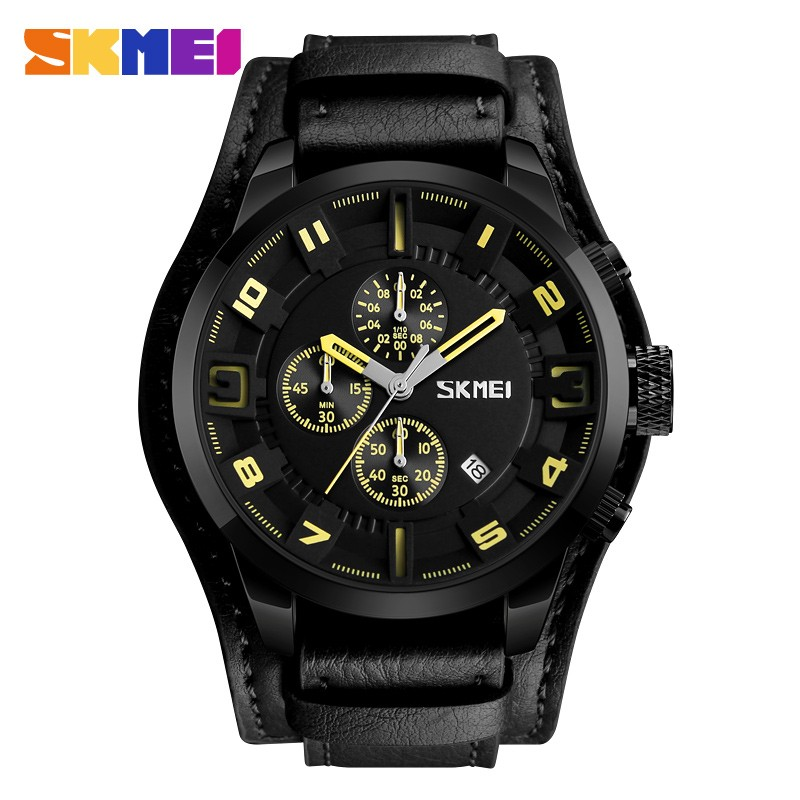 ЧАСЫ SKMEI 9165 Black Yellow