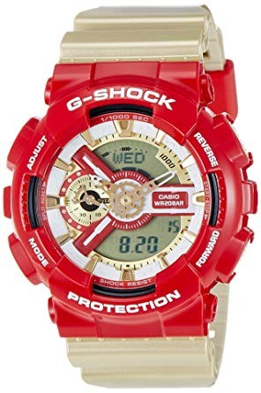 КОПИЯ CASIO G-SHOCK GA-110 Gold and Red