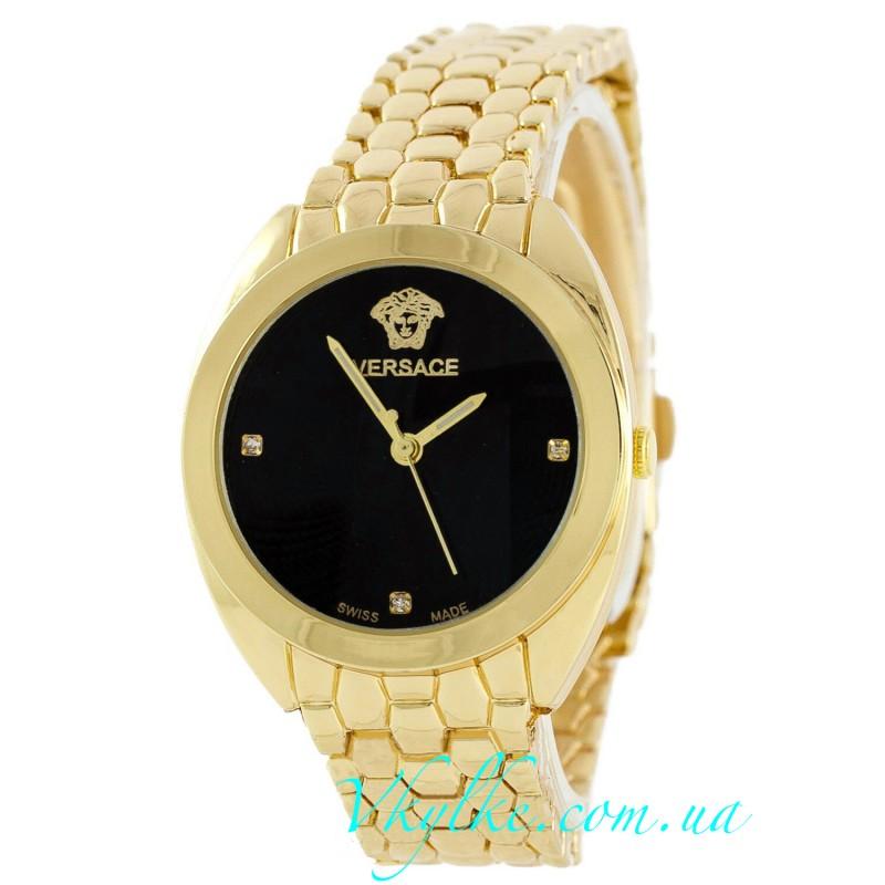 Женские часы Versace золото