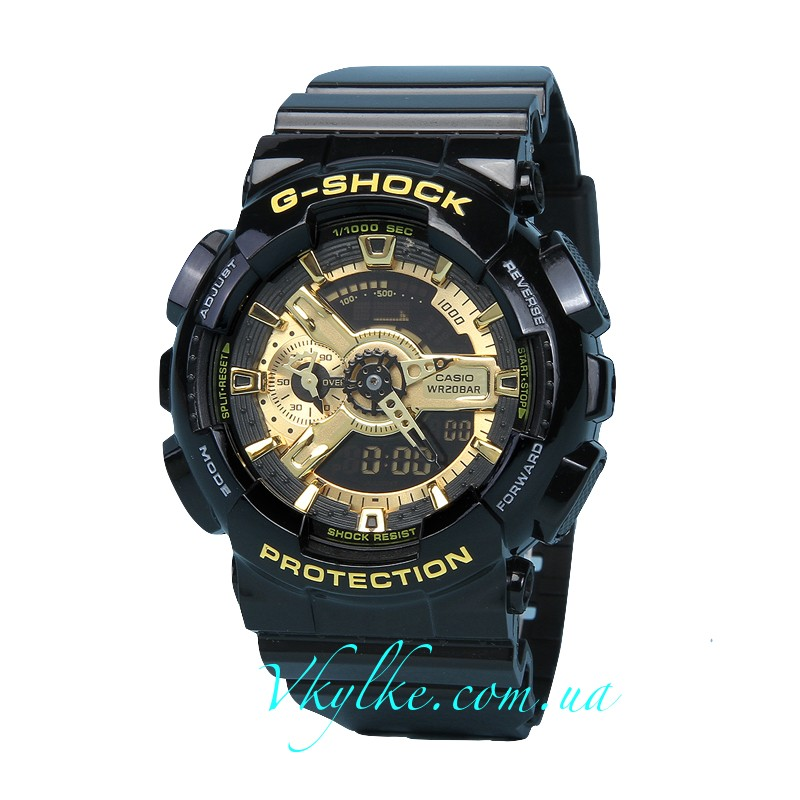 Часы Casio G-Shock GA-110 Black&Gold AAA
