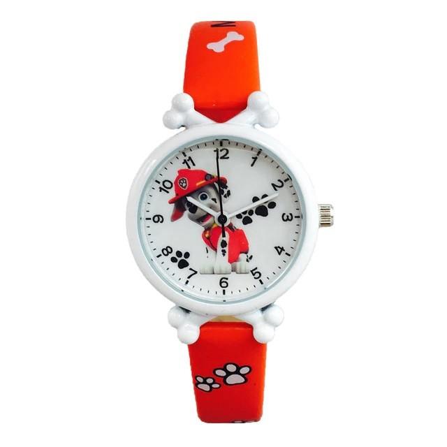 Детские часы Маршал красные PAW patrol Marshall