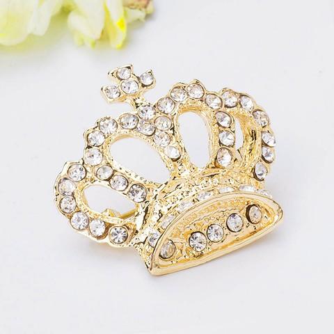 Брошь Crown