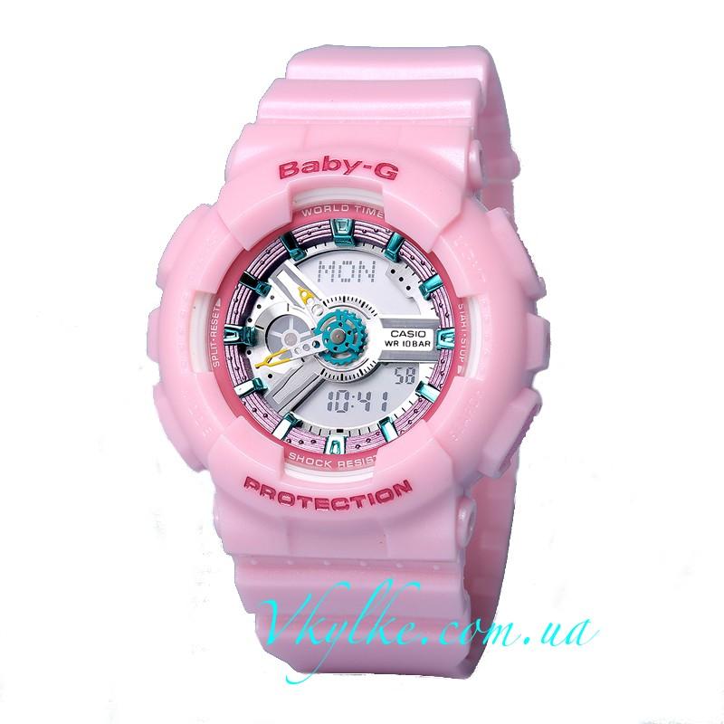 Часы Casio Baby G BA-110 Pink AAA
