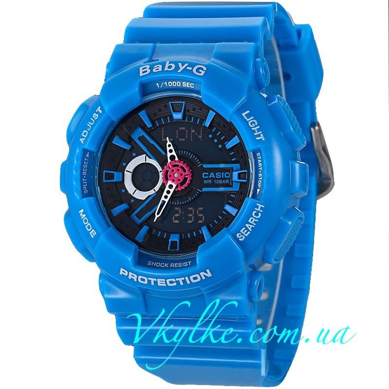 CASIO BABY-G BA-110 синий