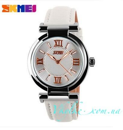 Женские часы Skmei 9075 белые