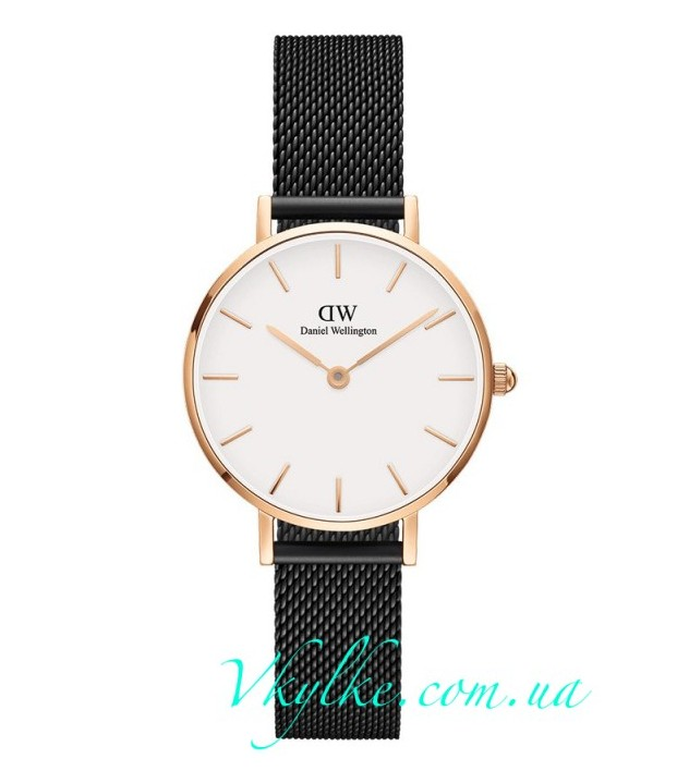 Женские часы DANIEL WELLINGTON ASHFIELD white display