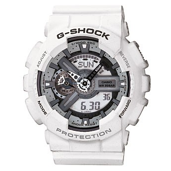 Casio G-Shock GA-110C-7AER белые с серым