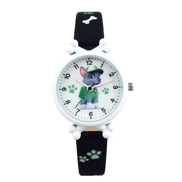 Детские часы Рокки черные PAW patrol Rocky