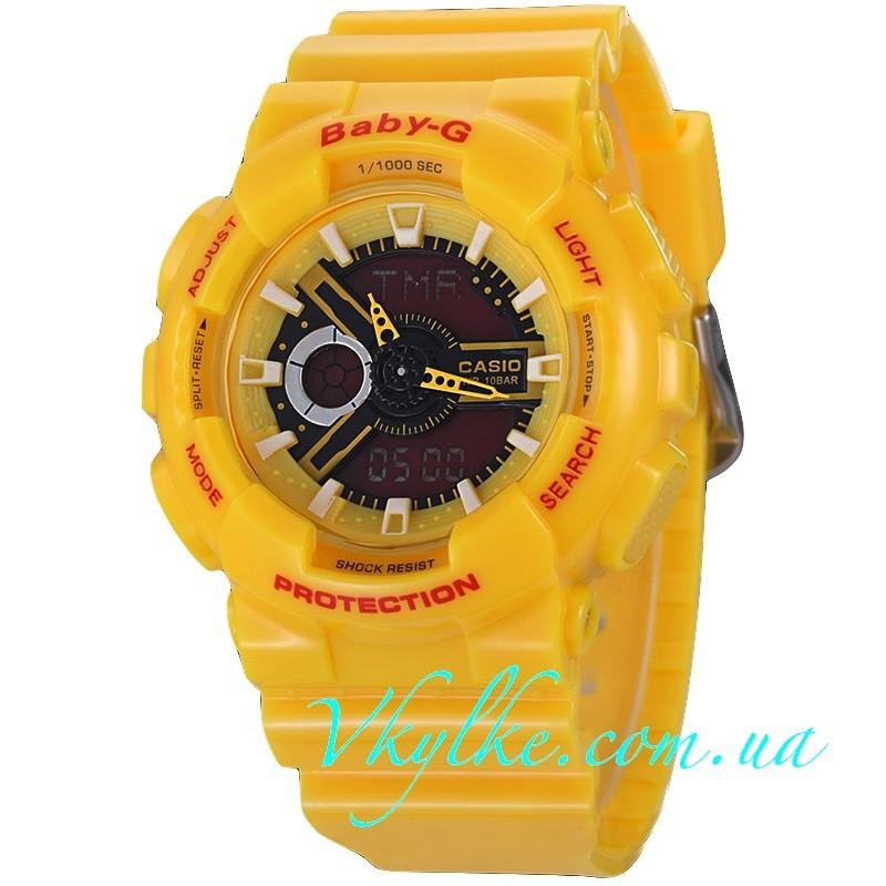 Casio Baby-G BA-110 желтые