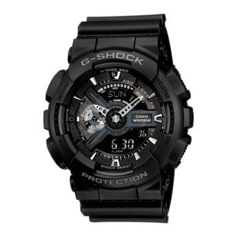 Casio G-Shock GA-110-1BER черные с серым