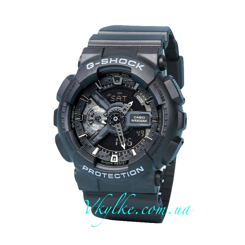 ЧАСЫ CASIO G-SHOCK GA-110 BLACK AAA