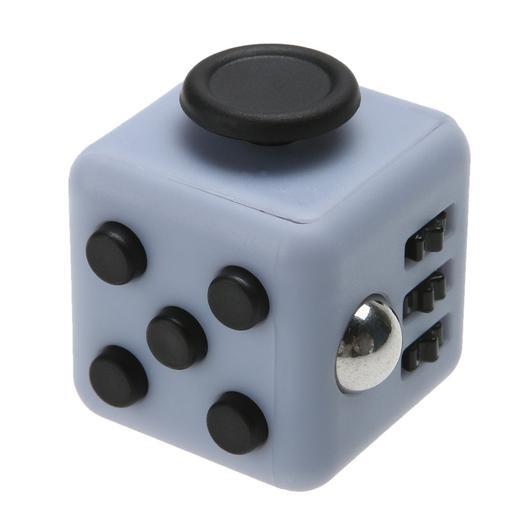 Fidget Cube серый с черным
