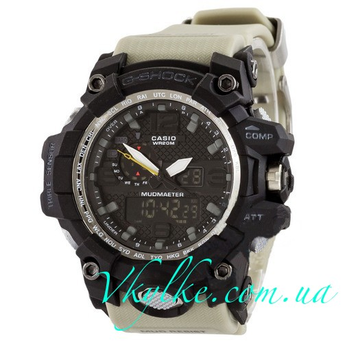 Casio G-Shock GWG-1000 бежевые