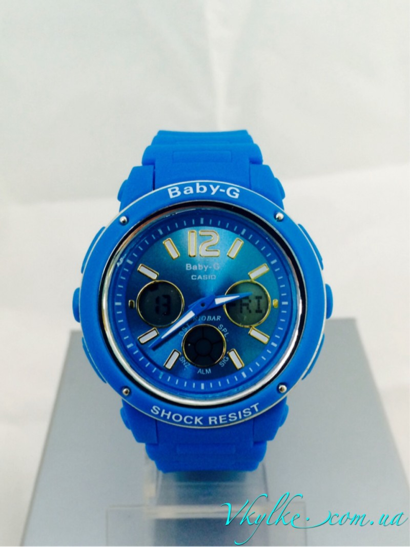 Casio Baby-G BGA-150 голубые
