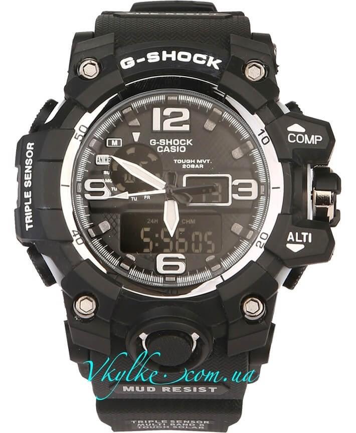 Часы Casio G-Shock GWG-1000 черные с белым