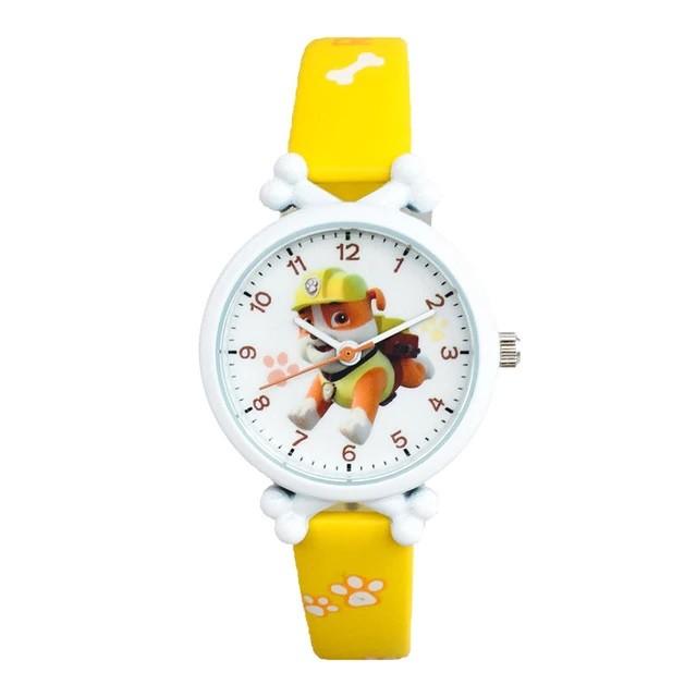 Детские часы Крепыш желтые PAW patrol Rubble