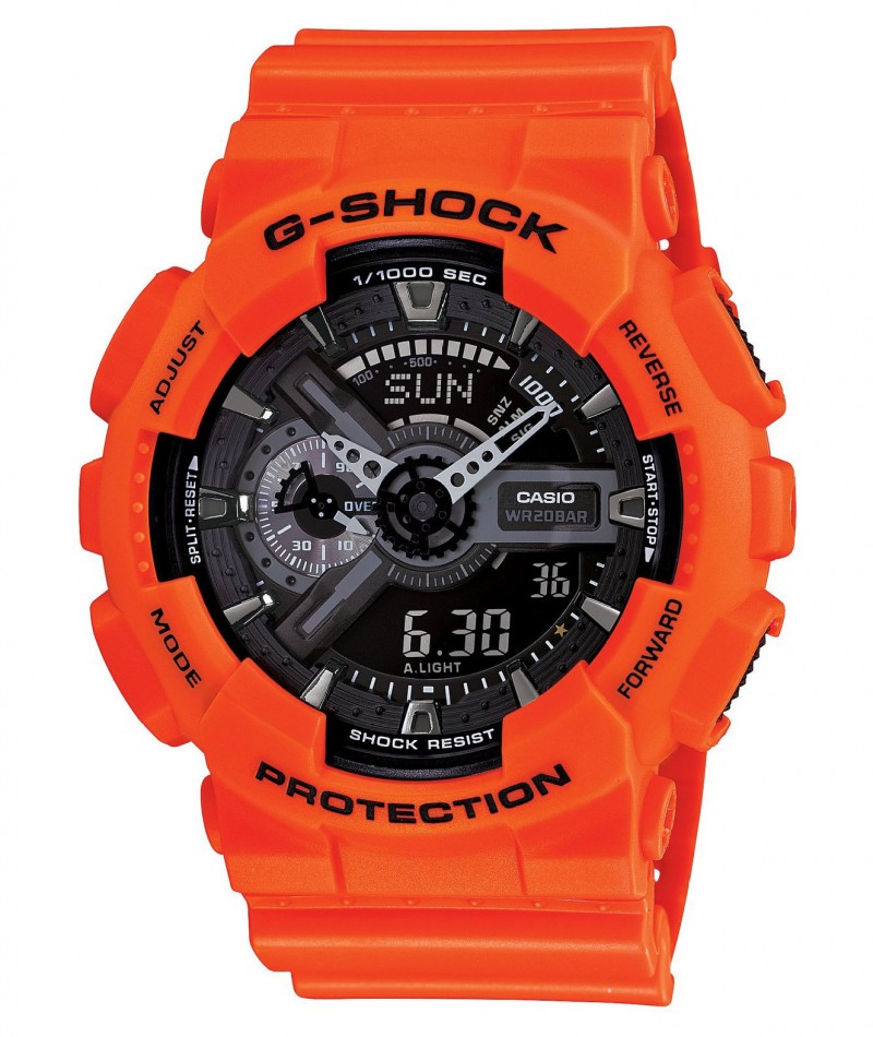 Casio G-Shock GA-110MR-4AER оранжевые