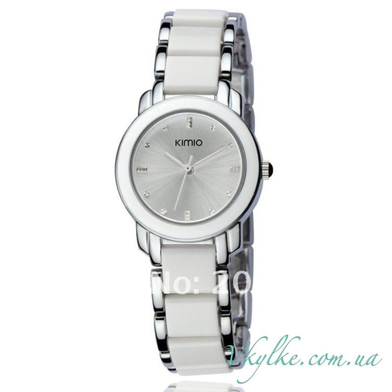 Часы Kimio белого цвета
