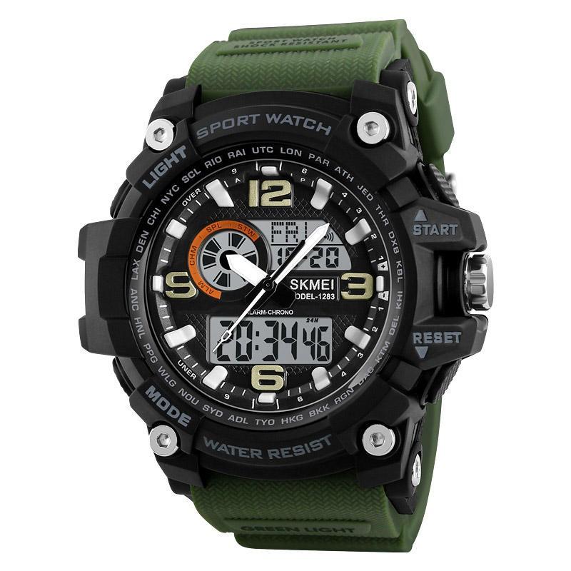 Часы Skmei 1283 green