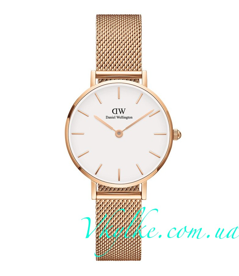 Женские часы DANIEL WELLINGTON MELROSE white display
