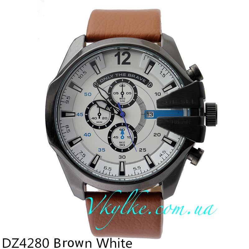 Часы наручные кварцевые Diesel DZ 4280 brown white