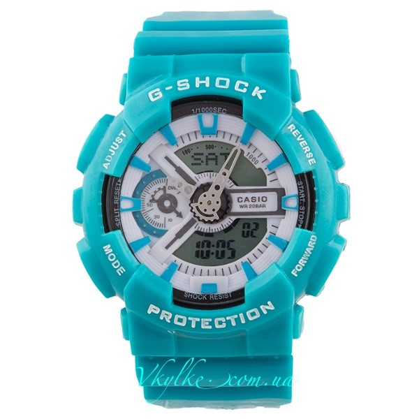 Копия CASIO G-SHOCK GA-110 бирюзовый