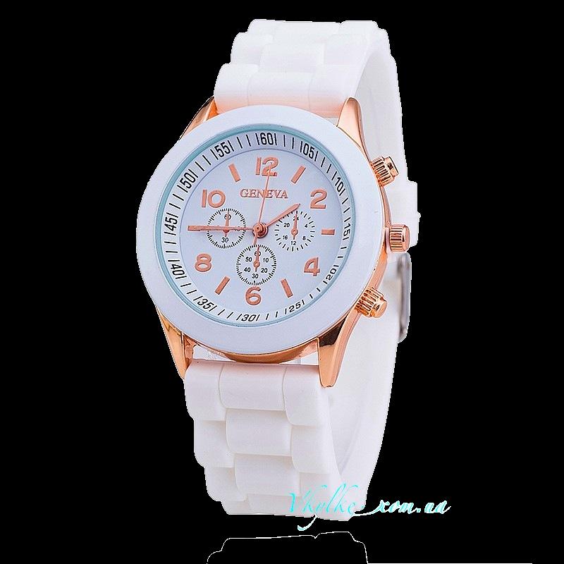 Часы Geneva белого цвета