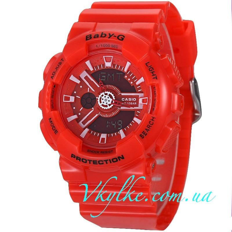 CASIO BABY-G BA-110 красные