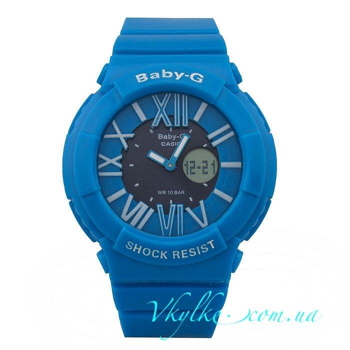 Casio Baby-G BGA-160 голубые