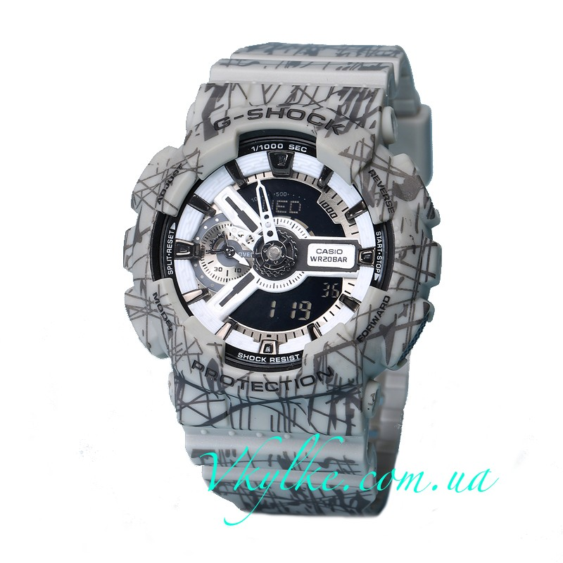 Часы CASIO G-SHOCK GA-110 Slash Grizzly AAA