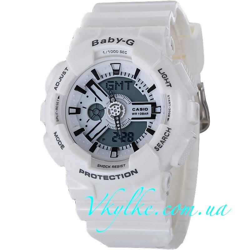 Casio Baby-G BA-110 белые