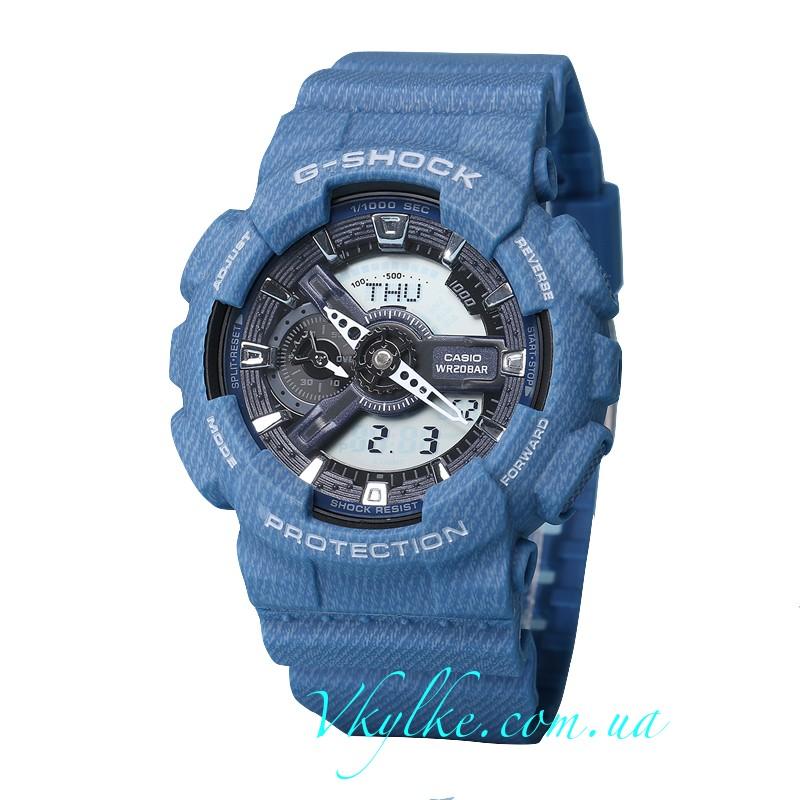 Часы CASIO G-SHOCK GA-110 Jeans AAA
