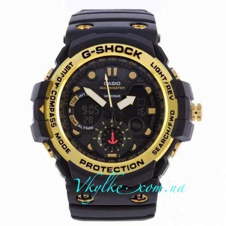Casio G-Shock GN-1000черные с золотом