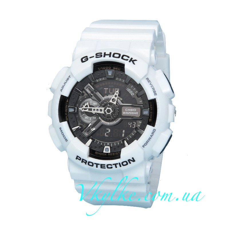 Часы Casio G-Shock GA-110 White&Black AAA