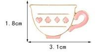 Значок м/ф Алиса в стране чудес Чашка
