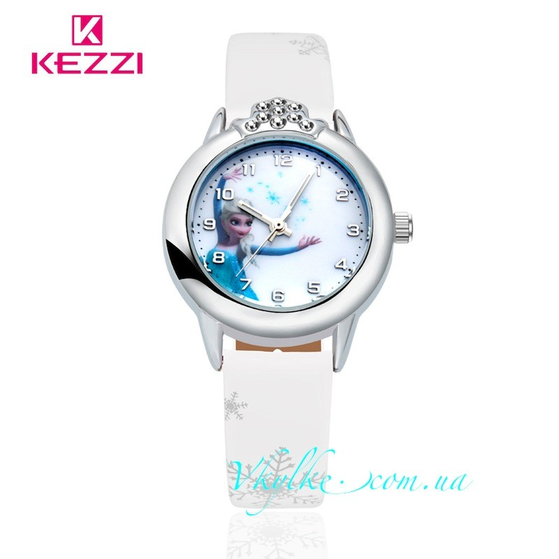Часы ✿ ХОЛОДНОЕ СЕРДЦЕ ✿ белые