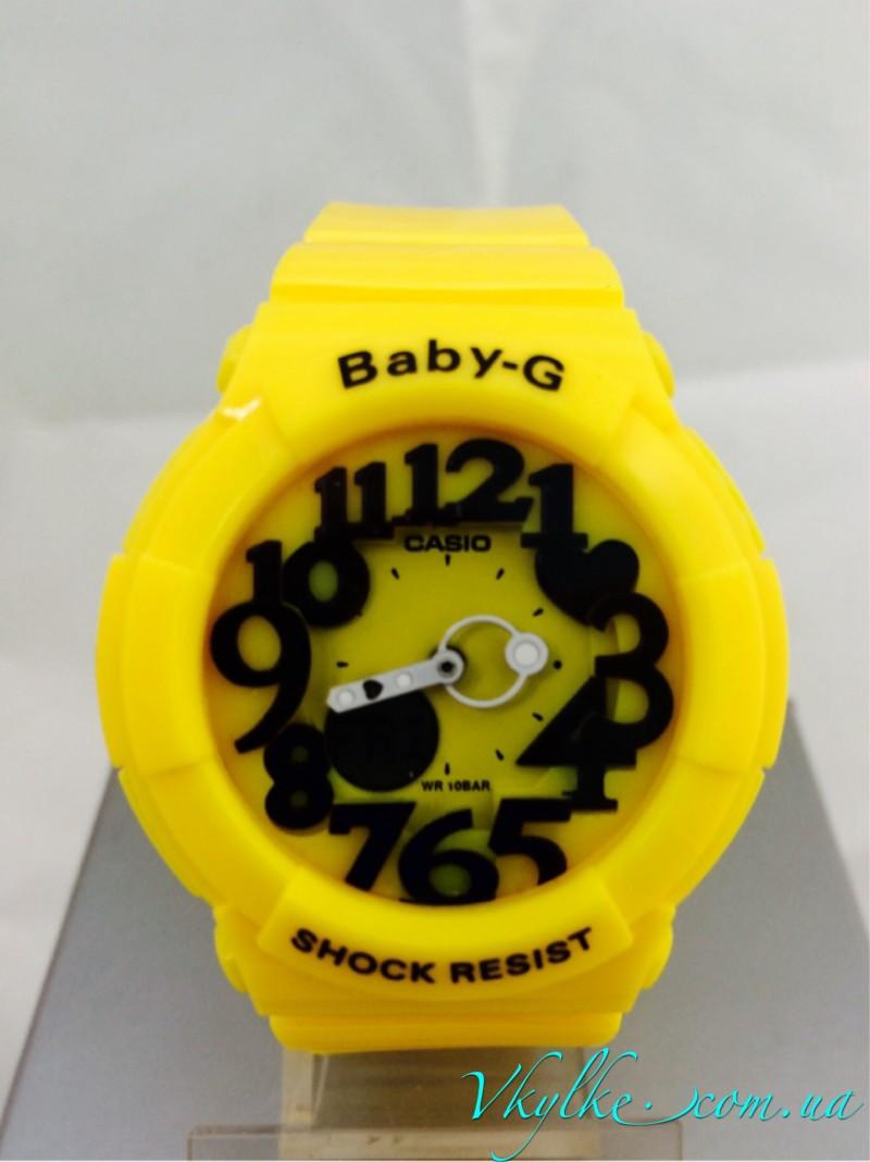Casio Baby-G BGD-133 желтые