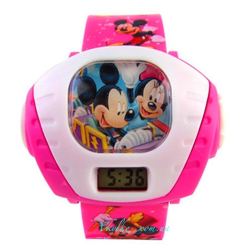 Часы ☆Mickey Mouse☆ с проектором